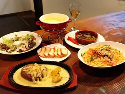 美味しいお酒と料理を提供